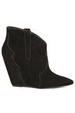 Janet Wedge Booties