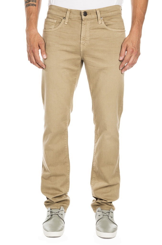 Kane Straight Fit Twill Pants - Auster