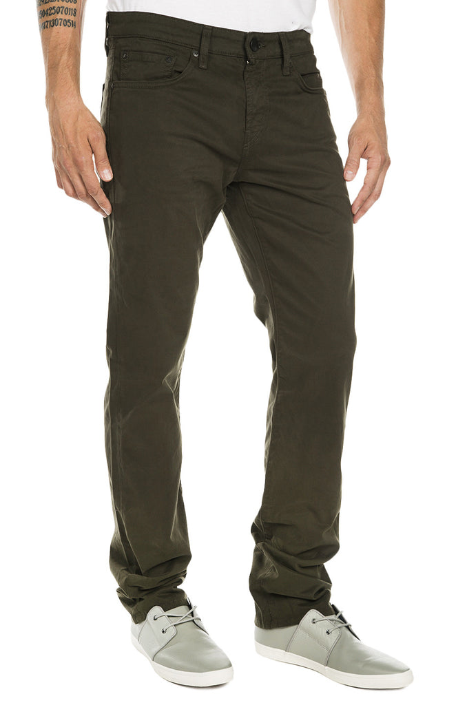 Kane Straight Fit Twill Pants - Presidio