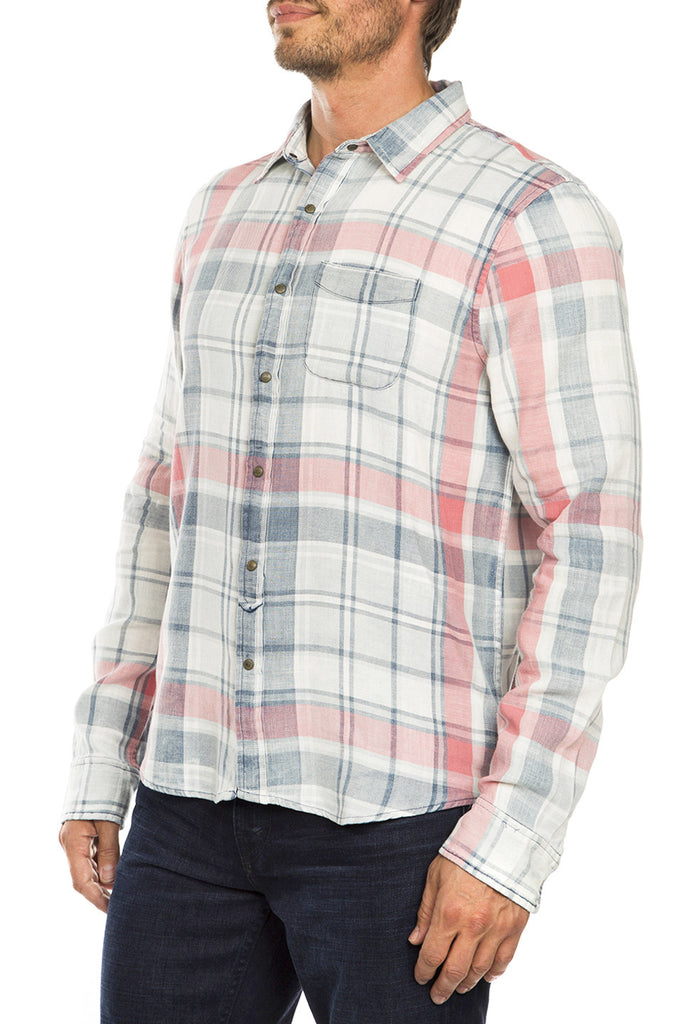 Slim Fit Single Pocket Shirt
