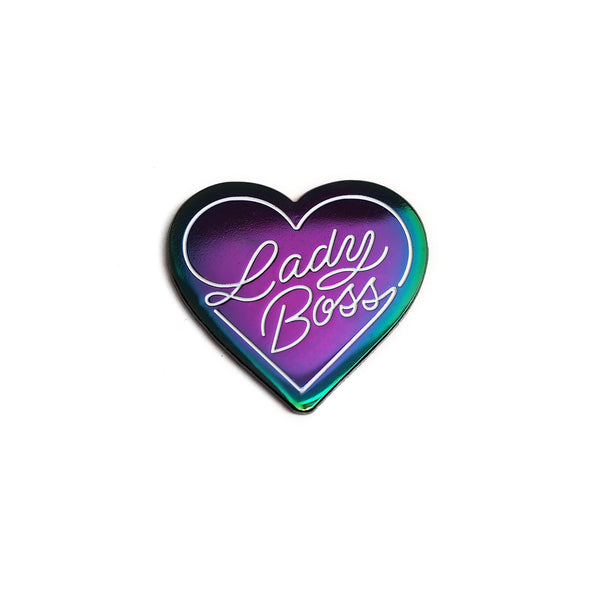 Lady Boss pin