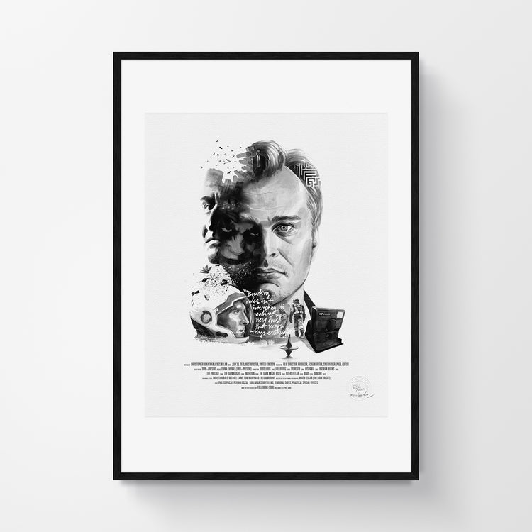 Movie Director Portrait – Christopher Nolan