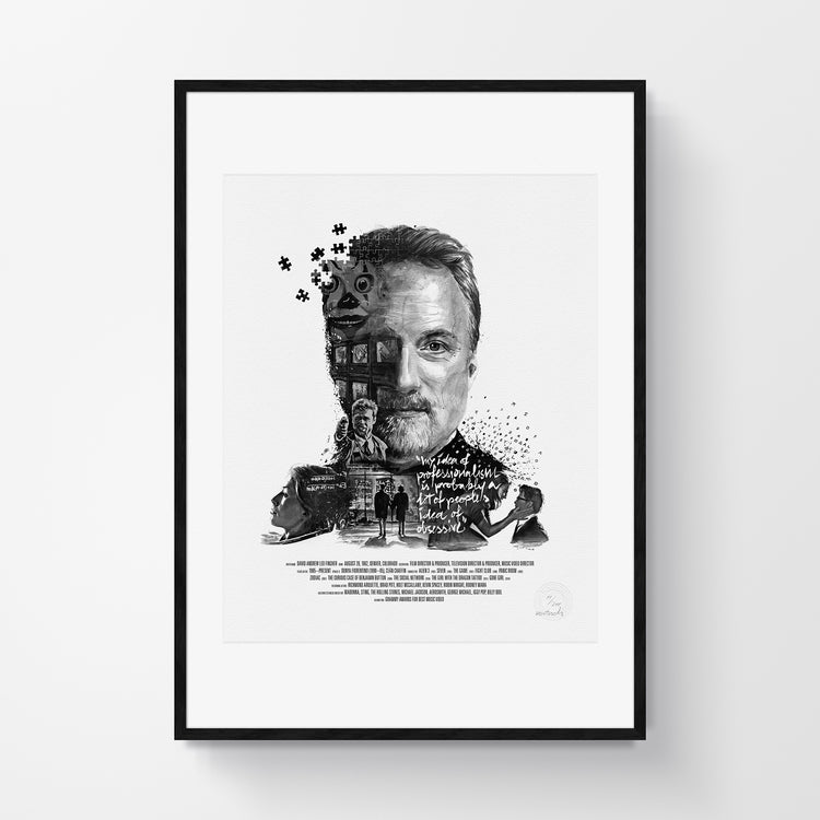 Movie Director Portrait – David Fincher