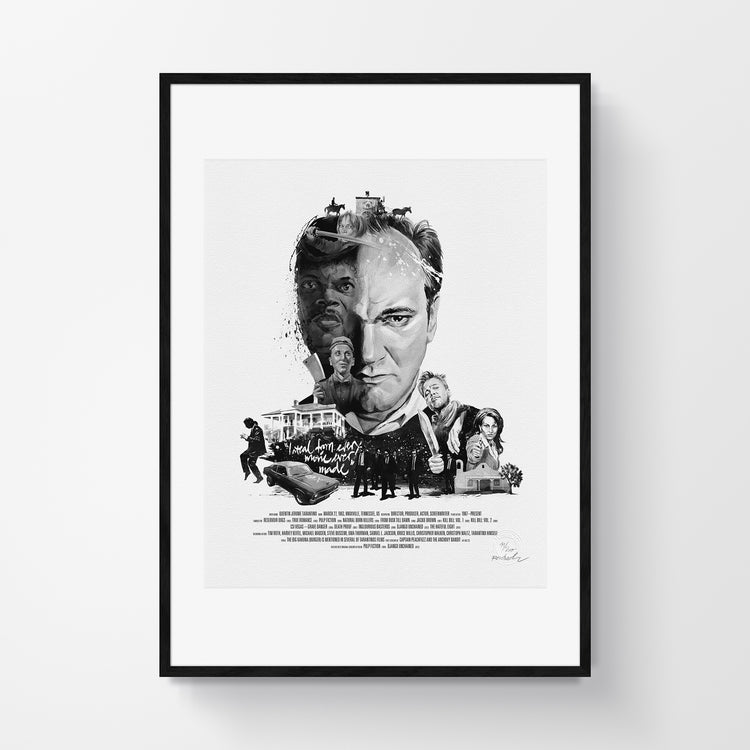 Movie Director Portrait – Quentin Tarantino