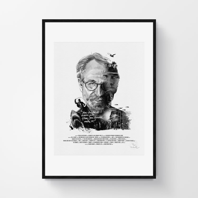 Movie Director Portrait – Steven Spielberg