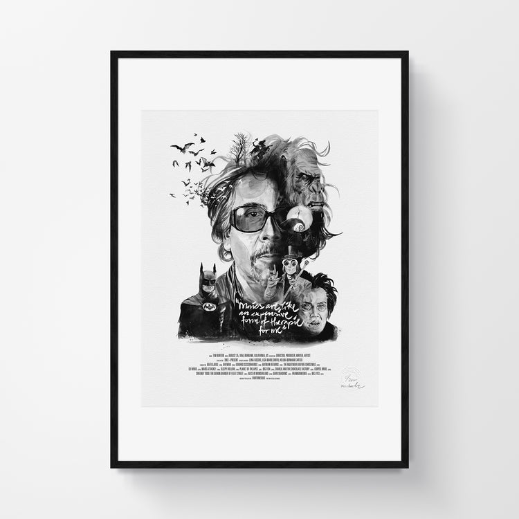 Movie Director Portrait – Tim Burton