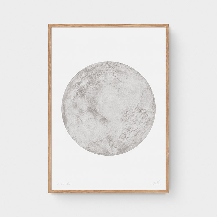 Not the moon — x.PNCK (Grey/White)