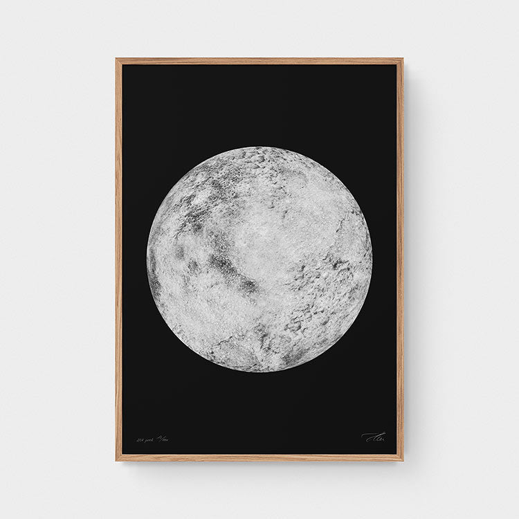 Not the moon — x.PNCK (White/Black)
