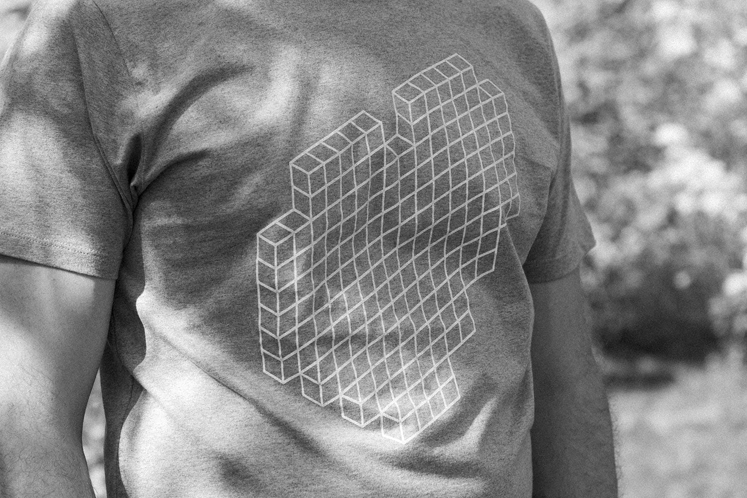 Big Heart (White/Heather-Grey)