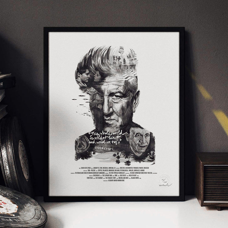Movie Director Portrait – David Lynch