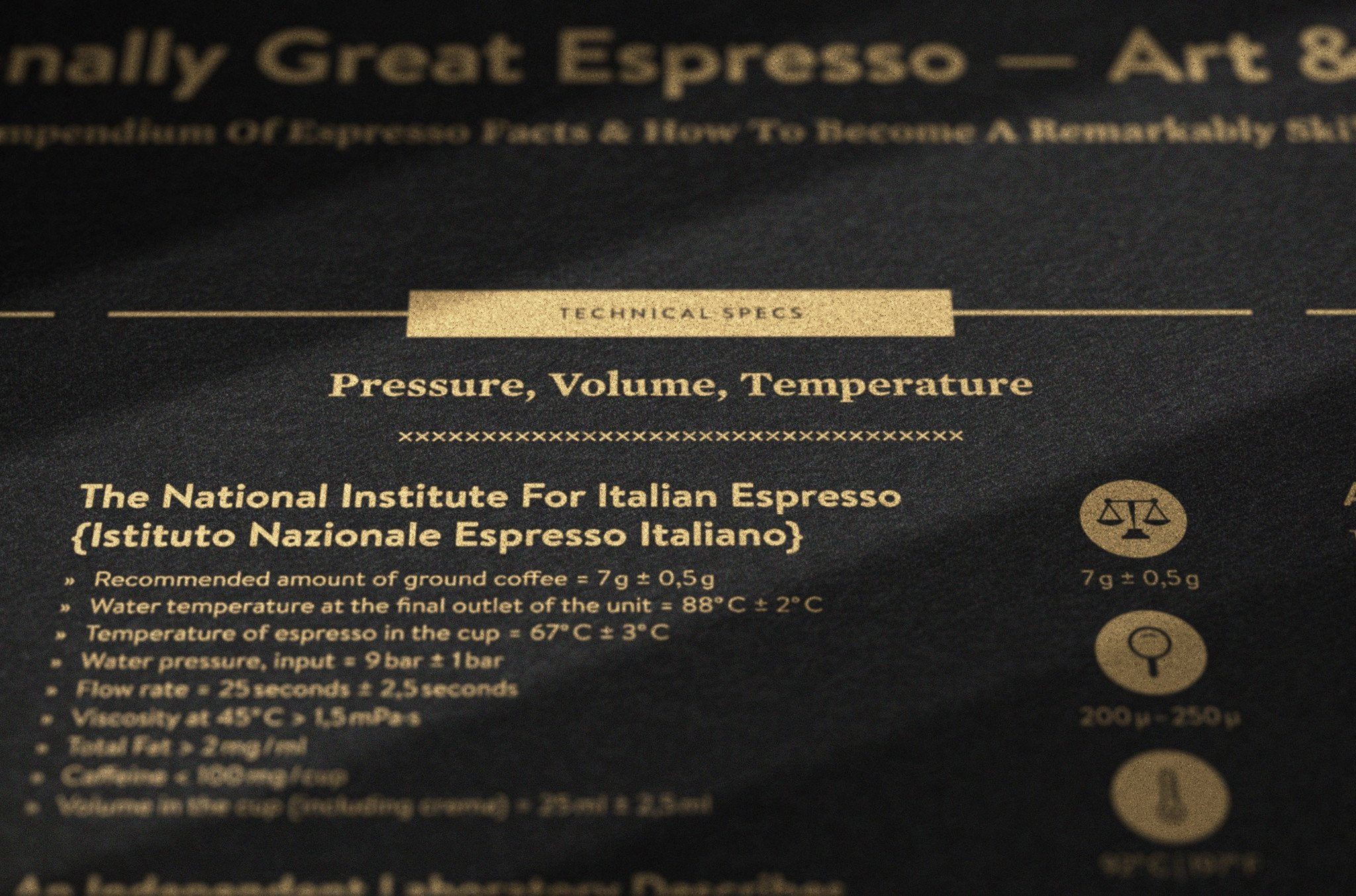 Exceptionally Great Espresso — Art & Science