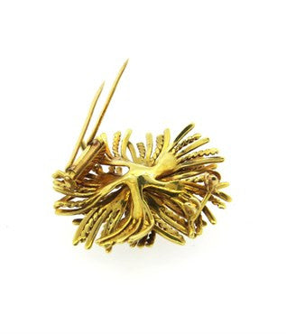 thumbnail image of Tiffany & Co Anemone 18k Gold Brooch Pin
