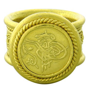 thumbnail image of Hilat 24k Gold Hieroglyph Ring