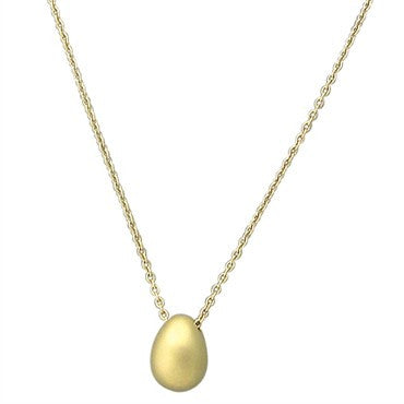 thumbnail image of Pomellato Ovetto 18K Gold Oval Pendant Necklace
