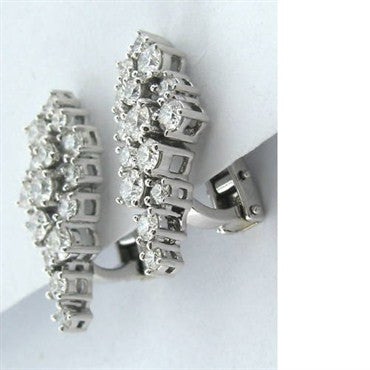 image of Hearts On Fire 18k 2.58ct Diamond Arrangement Earrings