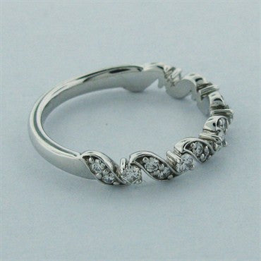 thumbnail image of Hearts On Fire Diamond Intertwining Leaf Wedding Band