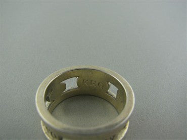 thumbnail image of Estate Tiffany & Co Sterling Silver 1837 Band Ring