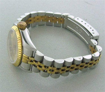 thumbnail image of Ladies Rolex 18K Gold Stainless 6719 Oyster Perpetual Watch