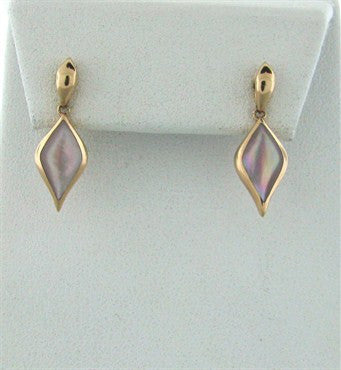 thumbnail image of Kabana 14K Rose Gold Mother Of Pearl Drop Earrings