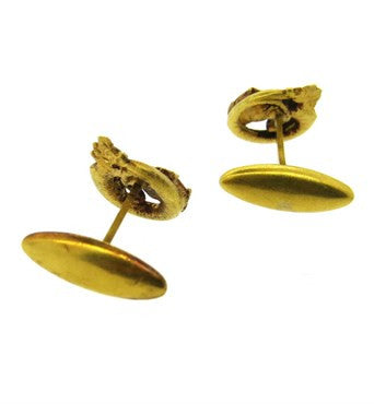 image of Antique Continental 18k Gold Cufflinks