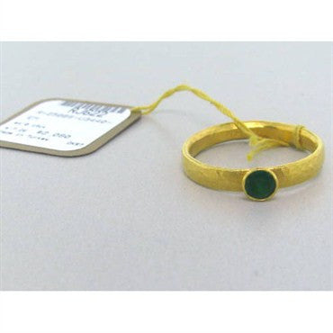 thumbnail image of New Gurhan 24k Gold Emerald Ring