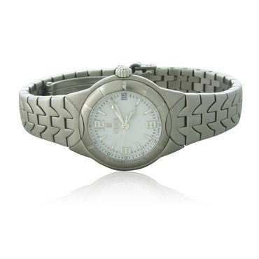 image of Ebel Type E Stainless Steel Ladies Watch