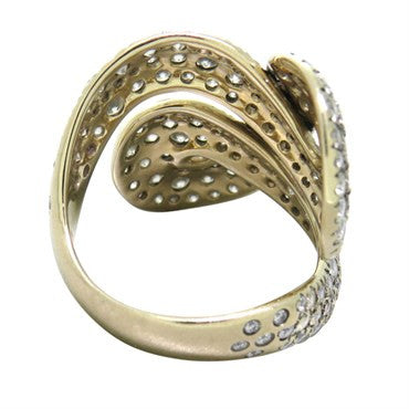 thumbnail image of H. Stern Celtic Dunes Collection 18k Gold Diamond Ring