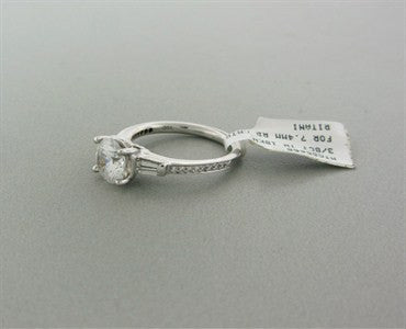 thumbnail image of New Ritani 18K White Gold Diamond Engagement Ring Setting