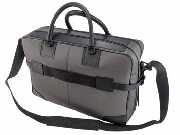 thumbnail image of ST Dupont Black & Grey Defi Laptop Bag 078002