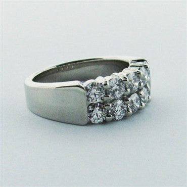 thumbnail image of Hearts On Fire Platinum Diamond Band Ring