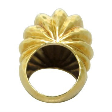 thumbnail image of R. Stone 18k Gold Large Dome Ring