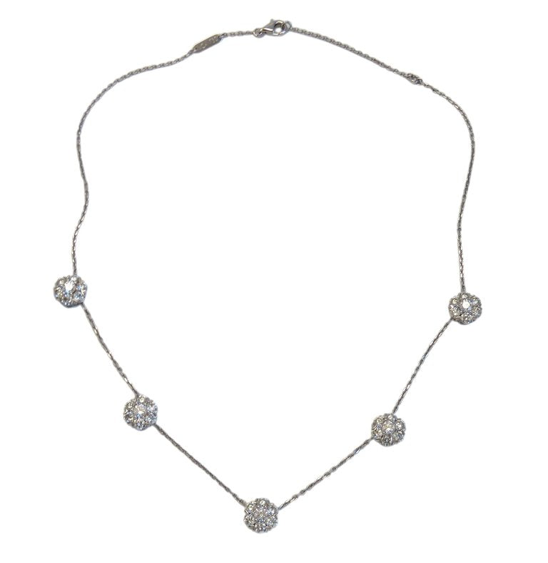 thumbnail image of Van Cleef & Arpels Large Fleurette Diamond Necklace