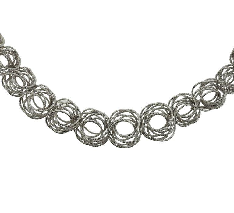 thumbnail image of Buccellati Gold Circle Link Necklace