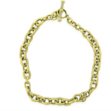 thumbnail image of Kieselstein Cord 18K Gold Diamond Toggle Necklace 189g