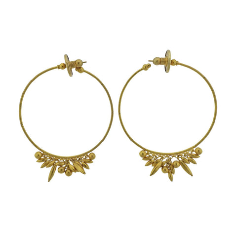 image of Gurhan Gold Hoop Earrings