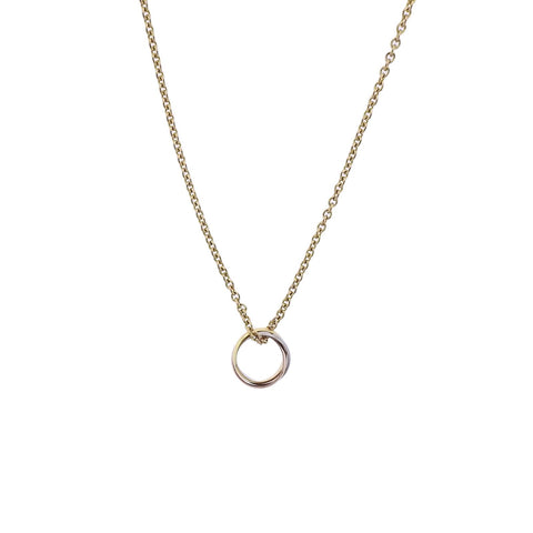 image of Cartier Trinity Gold Pendant Necklace