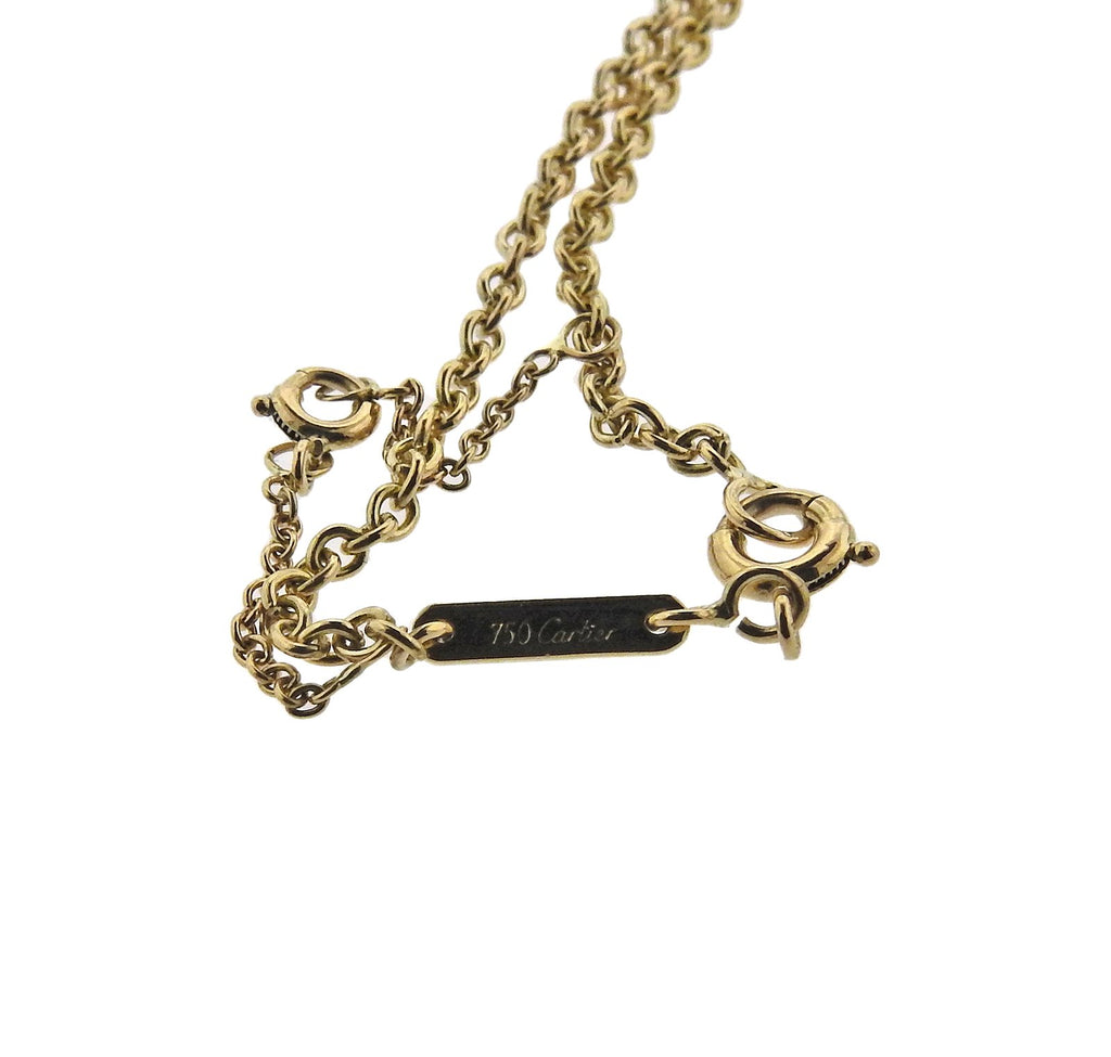 thumbnail image of Cartier Trinity Gold Pendant Necklace