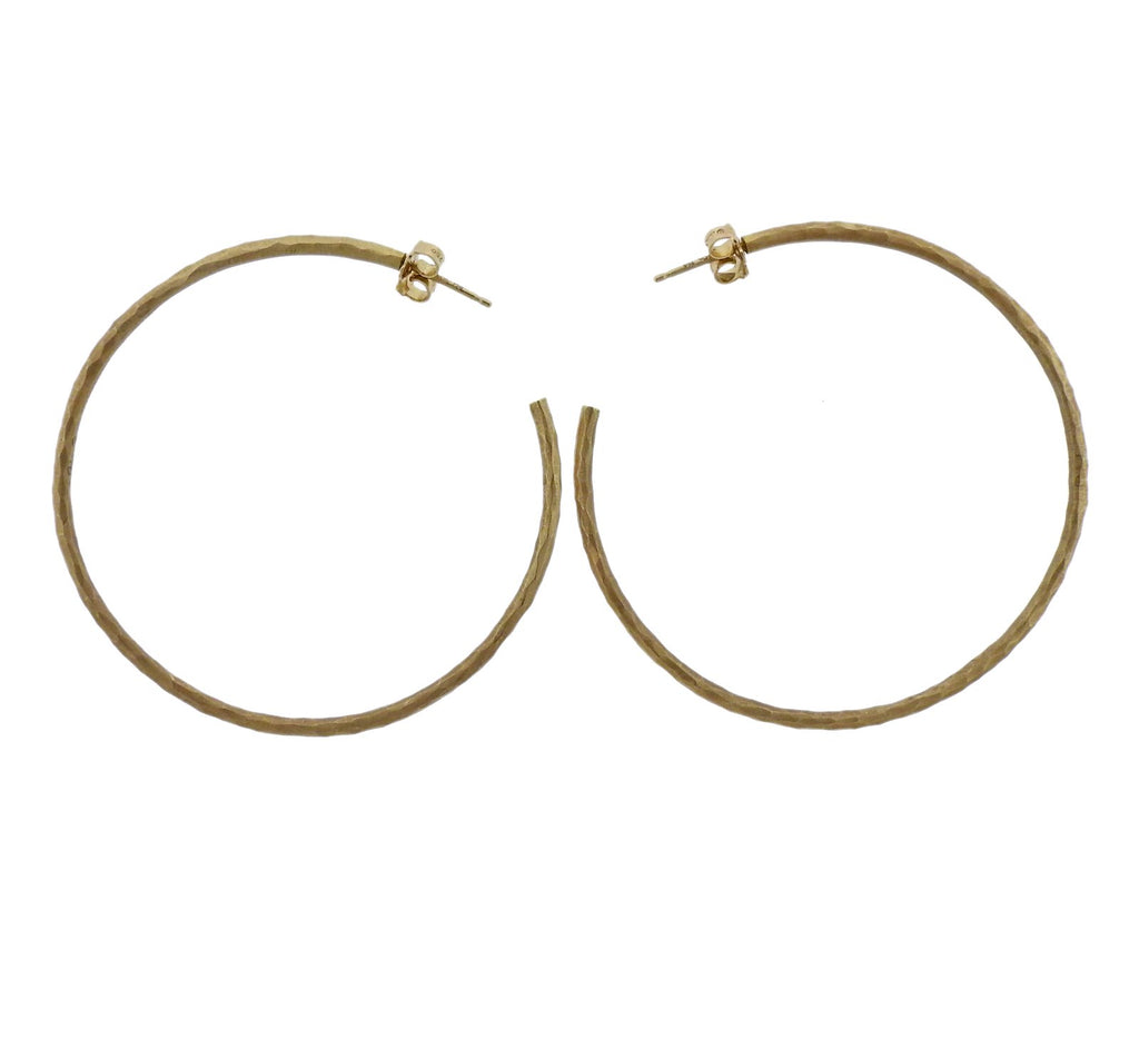 thumbnail image of Tiffany & Co Paloma Picasso Gold Hoop Earrings