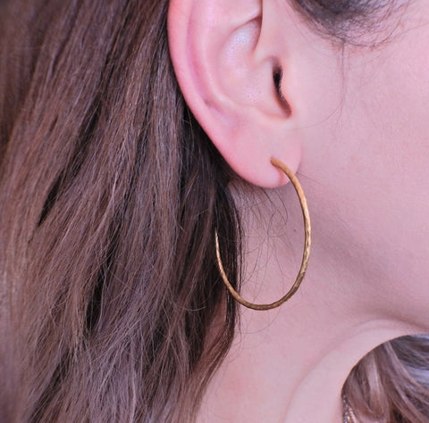 image of Tiffany & Co Paloma Picasso Gold Hoop Earrings
