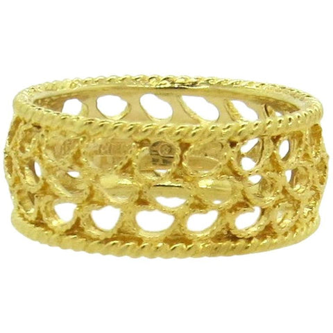 Buccellati Filidoro 18k Yellow Gold Band Ring