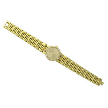 thumbnail image of Piaget Dancer 18k Gold Diamond Bezel Ladies Watch