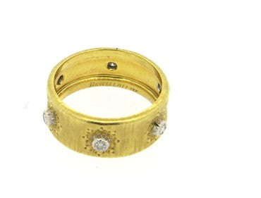thumbnail image of Buccellati Diamond Gold Wedding Band Ring