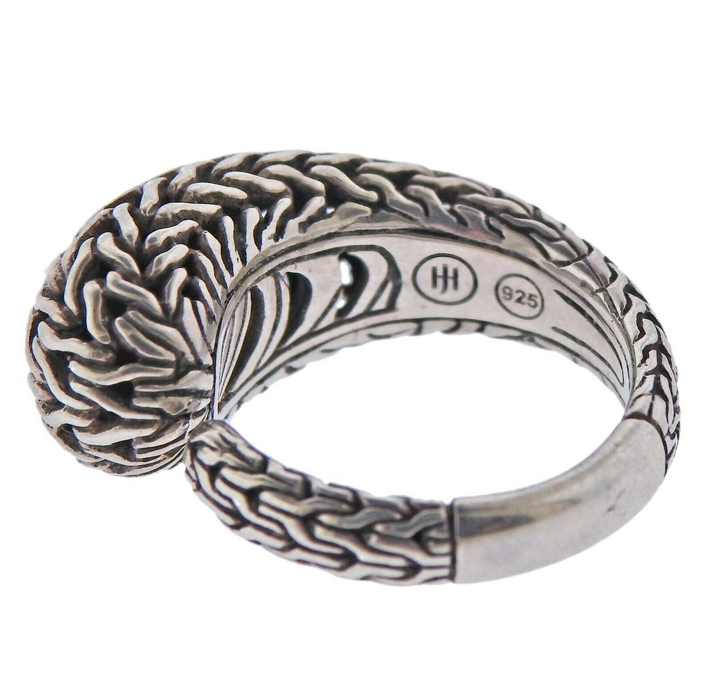 thumbnail image of John Hardy Sterling Silver Classic Chain Kick Ring