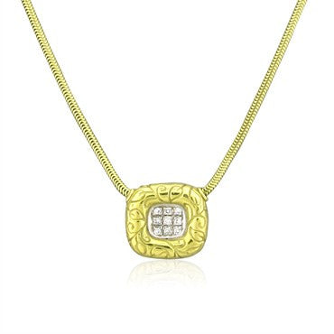 image of Seidengang 18K Yellow Gold Diamond Pendant Necklace