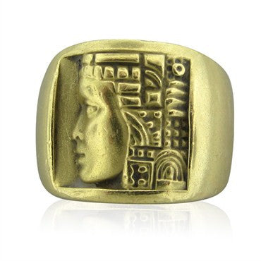 image of Kieselstein Cord Women Of The World Collection 18K Yellow Gold Ring