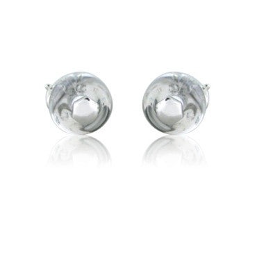 image of Marina B 18k White Gold Crystal Earrings