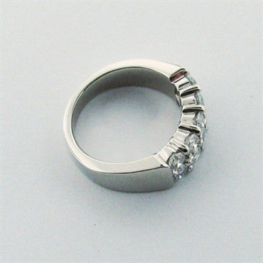 image of Hearts On Fire Platinum Diamond Band Ring