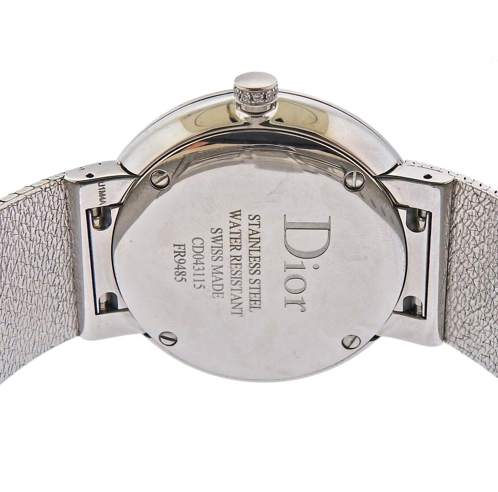 thumbnail image of La D de Dior Pink Mother of Pearl Diamond Satine Watch CD043115M002