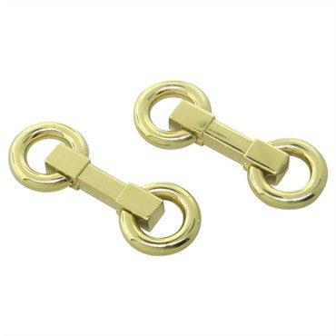 image of Retro French Gold Cufflinks