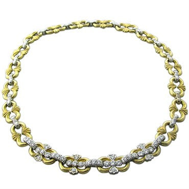 thumbnail image of Buccellati 18K Gold Diamond Necklace